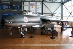 Hawker Hunter Mk.58 Switzerland Air Force J-4078