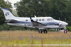 Hawker Beechcraft C90GTx King Air Jota Aviation G-MOSJ
