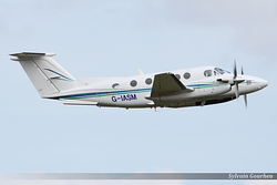 Beech B200 Super King Air G-IASM