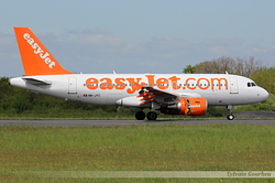 Airbus A319-111 EasyJet Switzerland HB-JYC