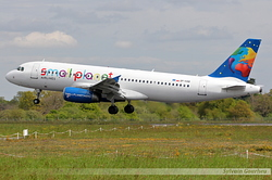 Airbus A320-232 Small Planet Airlines Poland SP-HAB