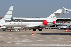 Raytheon Hawker 800XP NetJets Europe CS-DFY