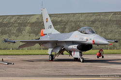 General Dynamics F-16AM Fighting Falcon Netherlands Air Force J-011