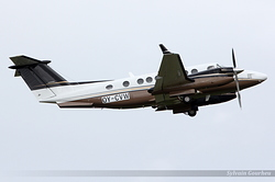 Beech 300 Super King Air 350 OY-CVW