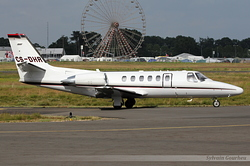 Cessna 550B Citation Bravo NetJets Europe CS-DHR