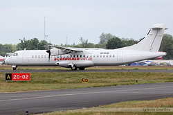 ATR-72-201 Danish Air Transport OY-RUD