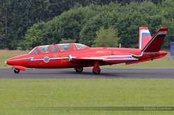 Fouga CM-170R-1 Magister Dutch Historic Jet Association F-GLHF