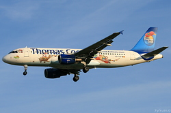 Airbus A320-214 Thomas Cook Airlines Belgium OO-TCP