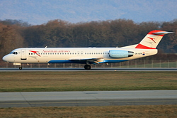 Fokker 100 Austrian Arrows (Tyrolean Airways) OE-LVN