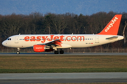 Airbus A320-214 easyJet Switzerland HB-JZX