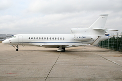 Dassault Falcon 7X Global Jet Luxemburg LX-ZXP