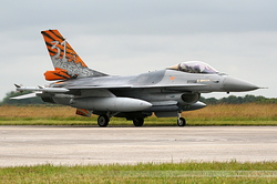 General Dynamics F-16AM Fighting Falcon Belgium Air Force FA-87