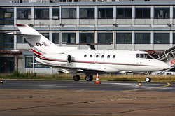 Raytheon Hawker 800xpi NetJets Europe CS-DRT