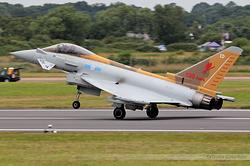 Eurofighter EF-2000 Typhoon FGR4 Royal Air Force ZK342
