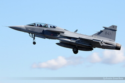 Saab JAS-39C Gripen Sweden Air Force 841
