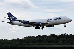 Boeing 747-87UF Atlas Air Panalpina N851GT