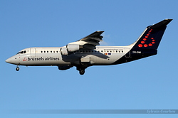 British Aerospace Avro RJ100 Brussels Airlines OO-DWI