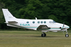 Beech E90 King Air F-GJCR
