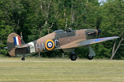 Hurricane Mk XIIa Royal Air Force Z5140 / HA-C