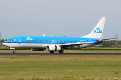 Boeing 737-8K2 KLM Royal Dutch Airlines PH-BXV