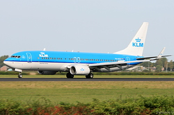 Boeing 737-8K2 KLM Royal Dutch Airlines PH-BXZ