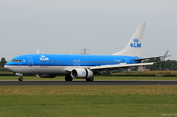 Boeing 737-8K2 KLM Royal Dutch Airlines PH-BGB