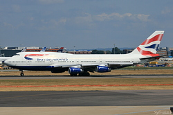 Boeing 747-436 British Airways G-BYGC