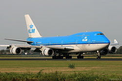Boeing 747-406 KLM Royal Dutch Airlines PH-BFR