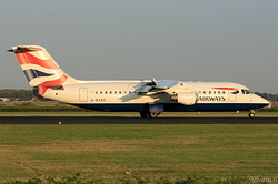 British Aerospace Avro RJ100 British Airways (CityFlyer) G-BXAS