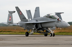 McDonnell Douglas F/A-18D Hornet Switzerland Air Force J-5234