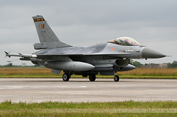 General Dynamics F-16AM Fighting Falcon Belgium Air Force FA-81