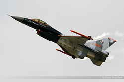 General Dynamics F-16AM Fighting Falcon Netherlands Air Force J-055