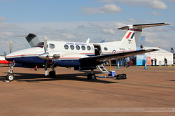 Hawker Beechcraft B200GT King Air Royal Air Force ZK460 / U