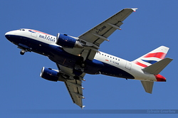 Airbus ACJ318 British Airways G-EUNB