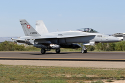 McDonnell Douglas F/A-18C Hornet Swiss Air Force J-5006