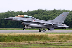 General Dynamics F-16BM Fighting Falcon Denmark Air Force 6G-14 / ET-198