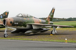 Republic F-84F Thunderstreak Belgium Air Force FU-50