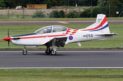 Pilatus PC-9M Croatia Air Force 056