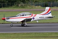 Pilatus PC-9M Croatia Air Force 063