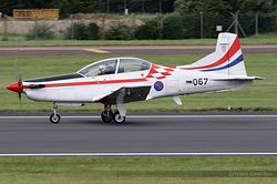 Pilatus PC-9M Croatia Air Force 067