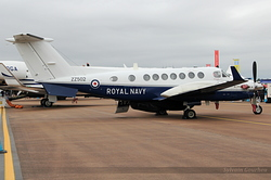 Hawker Beechcraft Avenger T1 Royal Navy ZZ502