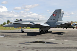 McDonnell Douglas F/A-18C Hornet Switzerland Air Force J-5016