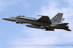 McDonnell Douglas F/A-18C Hornet Switzerland Air Force J-5010