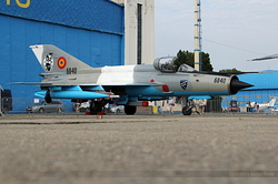 Mikoyan-Gurevich MiG-21MF-75 Romania Air Force 6840
