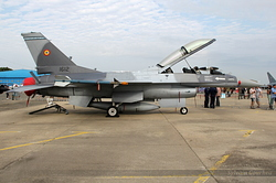 General Dynamics F-16BM Fighting Falcon Romania Air Force 1612