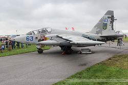 Sukhoi Su-25UB Ukrainian Air Force 63 Blue