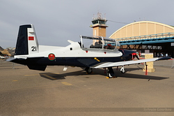 Beechcraft T-6A Texan II Royal Moroccan Air Force 21 / CN-BTU