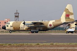 Lockheed C-130H Hercules Royal Moroccan Air Force 4876 / ON / CN-AON