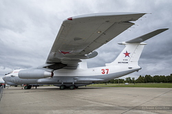 Ilyushin A-50U Mainstay Russian Air Force RF-93966 / 37 Red
