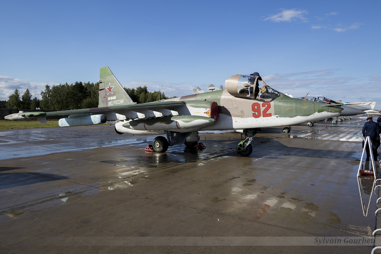 Sukhoi Su-25SM Frogfoot Russian Air Force RF-95482 / 92 Red